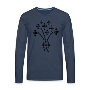 ORDBUKETT - Långärmad premium-T-shirt herr