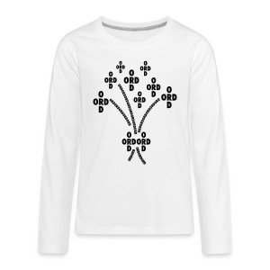 ORDBUKETT - Långärmad premium-T-shirt tonåring