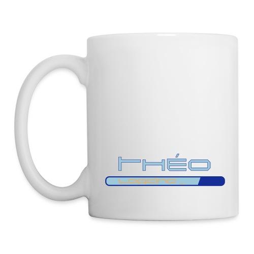 Mug Théo loading - Mug blanc