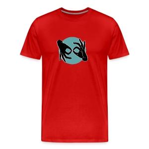 Deaf Interpreter black / green - Männer Premium T-Shirt