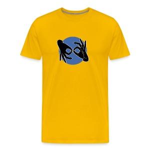 Deaf Interpreter black / blue - Männer Premium T-Shirt