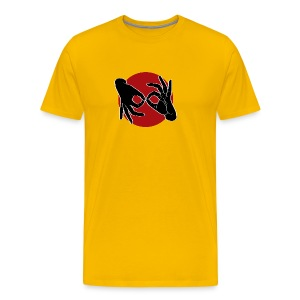 Deaf Interpreter black / red - Männer Premium T-Shirt