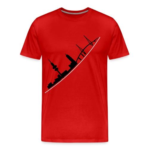 T-Shirt Skyline - Männer Premium T-Shirt