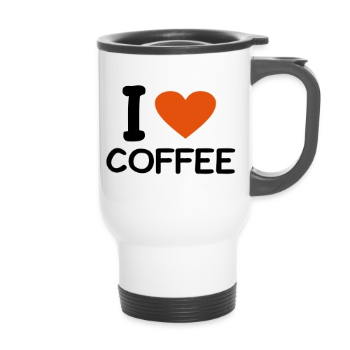 i love coffee - Thermobecher