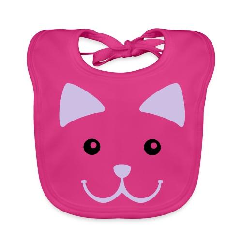 Babero gatito - Babero ecológico bebé