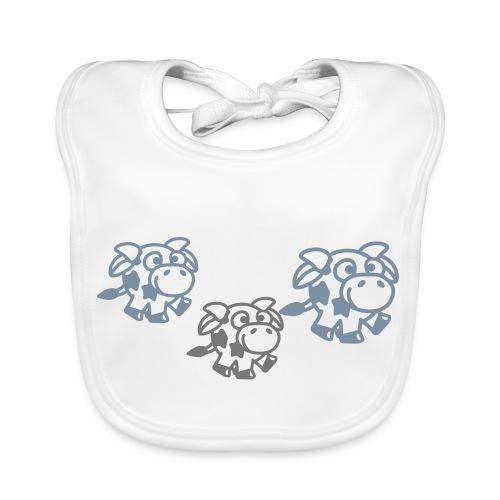 Babero vaquitas - Babero ecológico bebé