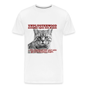 UnplugTheWood Cat - Men's Premium T-Shirt