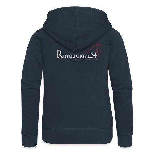 Reiterportal24 Frauen Kapuzenjacke navy - Frauen Premium Kapuzenjacke