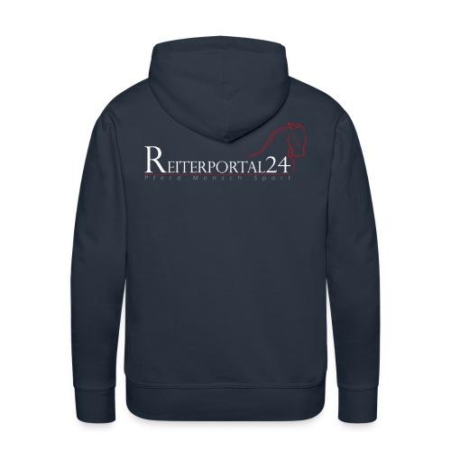 Reiterportal24 Männer Kapuzenpullover navy - Männer Premium Hoodie