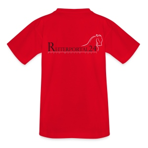 Reiterportal24 Kinder T-Shirt rot - Kinder T-Shirt
