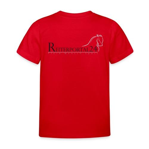 Reiterportal24 Kinder T-Shirt rot - Kinder T-Shirt