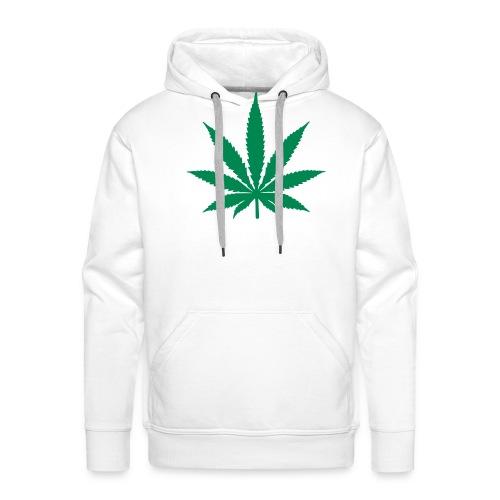 Men's Premium Hoodie - cannabis,mens t shirt,t shirt,weed,white weed t shirt