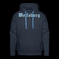 Pullover & Hoodies ~ Männer Premium Kapuzenpullover ~ Wolfsburg Sweatshirt