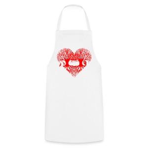 valentinstag herz liebe baum paar wurzeln schaukel T-Shirts - Kochschürze
