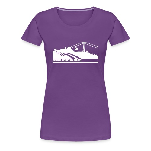 Fichtel Mountain Riders - Frauen Premium T-Shirt
