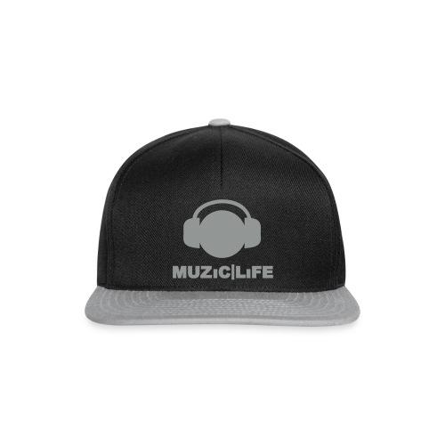 ML Phoneboy | Snapback - Black/Grey - Snapback cap