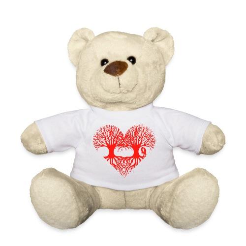 valentinstag herz liebe baum paar wurzeln schaukel T-Shirts - Teddy