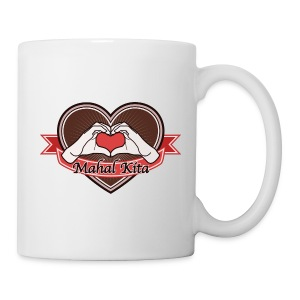 Hand Heart (Brown) Mahal Kita - Tasse