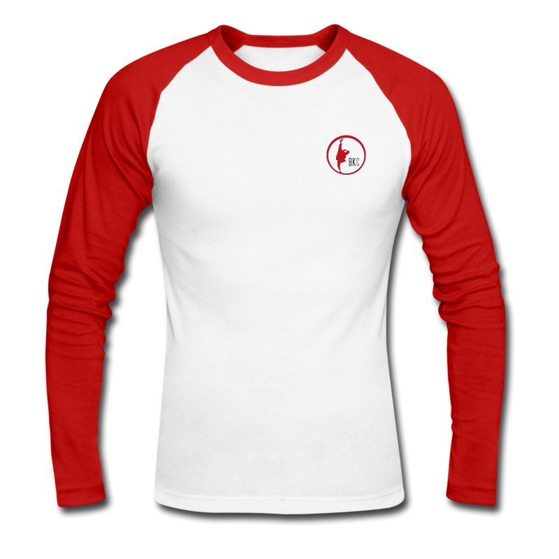 Men's Long Sleeve T-Shirt - Men's Long Sleeve Baseball T-Shirt
