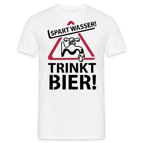 Trinkt Bier ... T-Shirt - Männer T-Shirt
