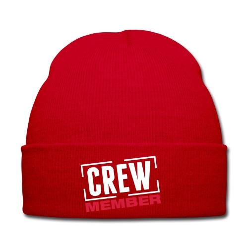 Winter Hat - hat red crew