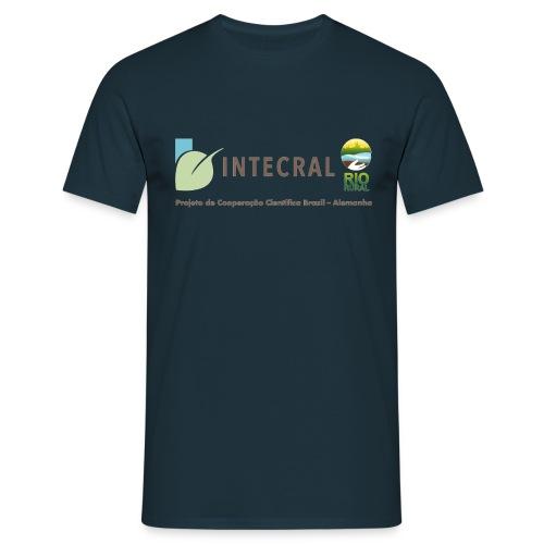 Projektshirt INTECRAL Männer dunkelblau - Männer T-Shirt
