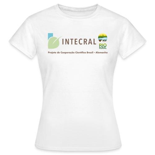 Projektshirt INTECRAL Frauen weiss - Frauen T-Shirt