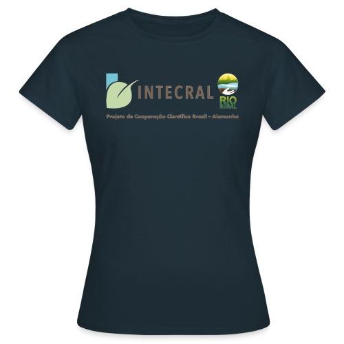 Projektshirt INTECRAL Frauen dunkelblau - Frauen T-Shirt