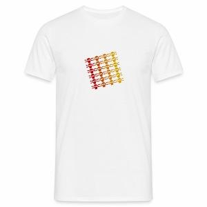 Totenkopf Muster - Männer T-Shirt