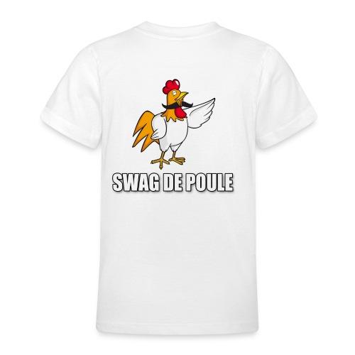 T-shirt ADO Swag de Poule - T-shirt Ado