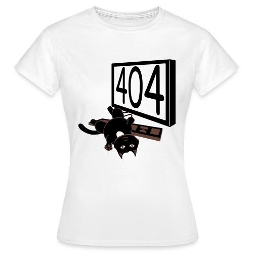 Cät & Keyboard - Frauen T-Shirt