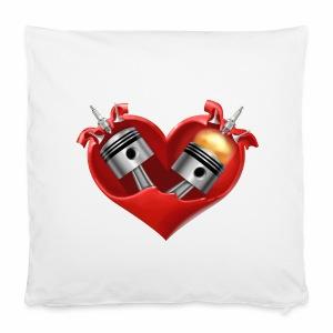 Biker's Heart Pillowcase - Pillowcase 40 x 40 cm
