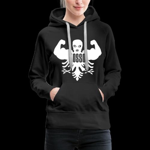 Dames Sweater met Capuchon (Witte Logo) - Vrouwen Premium hoodie