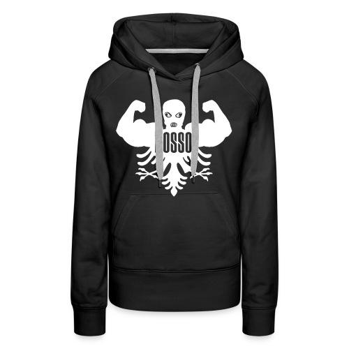 Dames Sweater met Capuchon Zwart Standaard - Vrouwen Premium hoodie