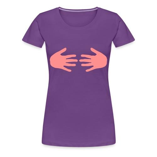 Hand Bra - Women's Premium T-Shirt