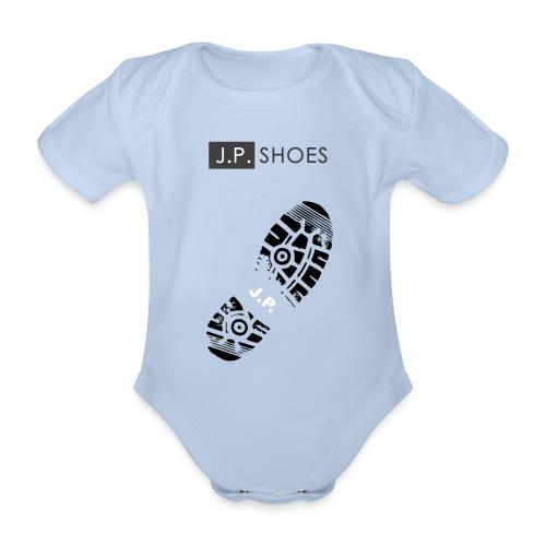 Baby Bio-Kurzarm-Body - Stiefel,Stern,Sport,Sohle,Schuhe,Schuh,Marke,Liebe,Kleidung,Grafik,Gefühle,Fashion,Design,Clothes