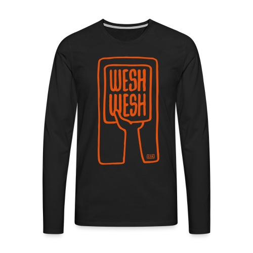 Tee-shirt homme Wesh Wesh - T-shirt manches longues Premium Homme