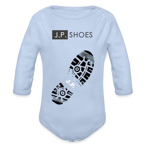 Baby Bio-Langarm-Body - Stiefel,Stern,Sport,Sohle,Schuhe,Schuh,Marke,Liebe,Kleidung,Grafik,Gefühle,Fashion,Design,Clothes