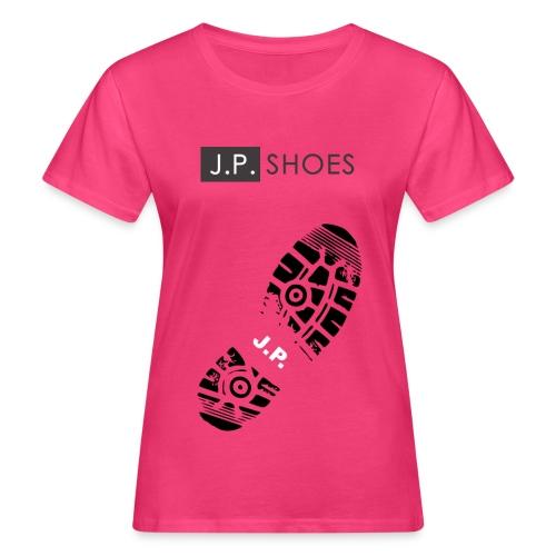 Frauen Bio-T-Shirt - Stiefel,Stern,Sport,Sohle,Schuhe,Schuh,Marke,Liebe,Kleidung,Grafik,Gefühle,Fashion,Design,Clothes