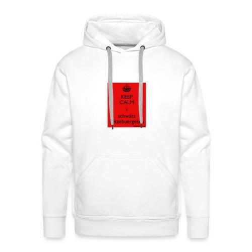 Kapu Schwätz Lëtzebuergesch - Männer Premium Hoodie
