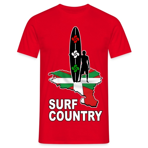 Pays Basque - surf country - Men's T-Shirt
