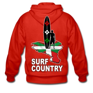 Pays Basque - surf country - Men's Premium Hooded Jacket