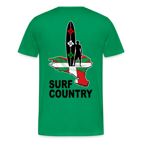 Pays Basque - surf country - Men's Premium T-Shirt