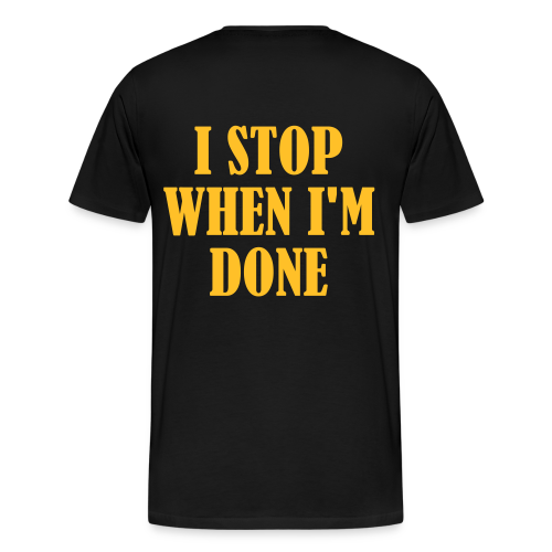 Männer Premium T-Shirt - workout,shirt,gym,doyoueven.de,doyoueven,Weightlifting,Training,Shirts,Motivation,Lift,Fitness,Do You Even,Deutschland,DYEL,Crossfit,Bodybuilding