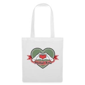 heart-green Mahal kita - Stoffbeutel