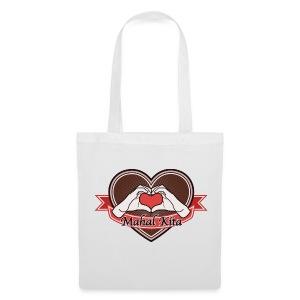 heart-brown Mahal kita - Stoffbeutel