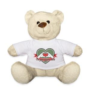 heart-green Tá grá agam duit - Teddy