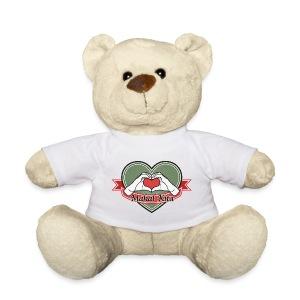 heart-green Mahal kita - Teddy