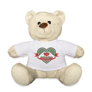 heart-green Eu te amo - Teddy