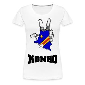 Lady Kongo - T-shirt Premium Femme